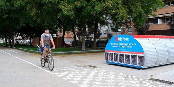 Más de 36.000 usos del Bicibox y más de 7.000 del E-Bicibox durante 2020