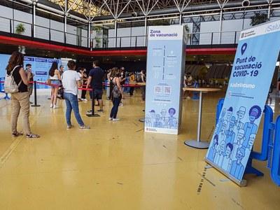 Más del 75% de la población de Cornellà ha recibido la pauta completa de vacunación contra la Covid-19