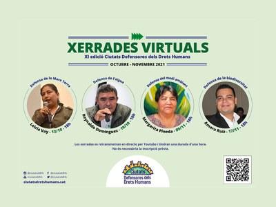 Talleres virtuales para la XI edición del programa Ciudades Defensoras de los Derechos Humanos