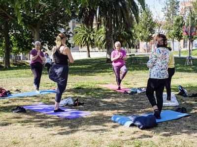 Vuelve la programación Esport Salut a los parques y plazas de la ciudad