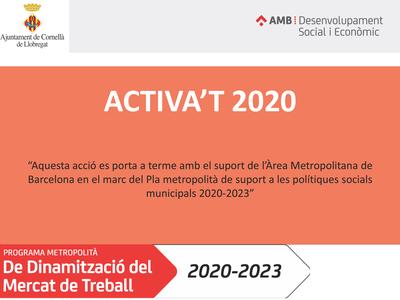 ACTIVA't: Nuevo proyecto de acompañamiento a la búsqueda de trabajo