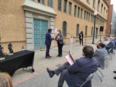 Premios al Instituto Esteve Terradas y a la escuela SAMC