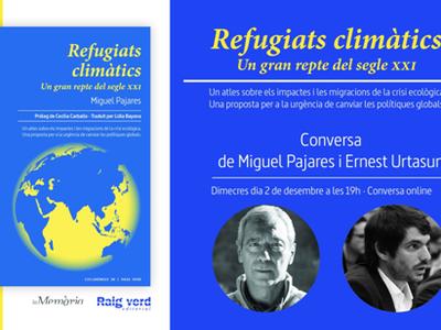 """Debate en línea sobre """"Refugiados climáticos"""" con el eurodiputado Ernest Urtasun."""
