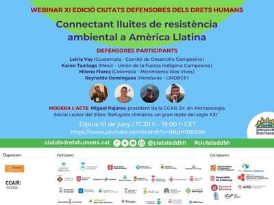 """Webinar: """"Conectando luchas de resistencia ambiental en América Latina"""""""