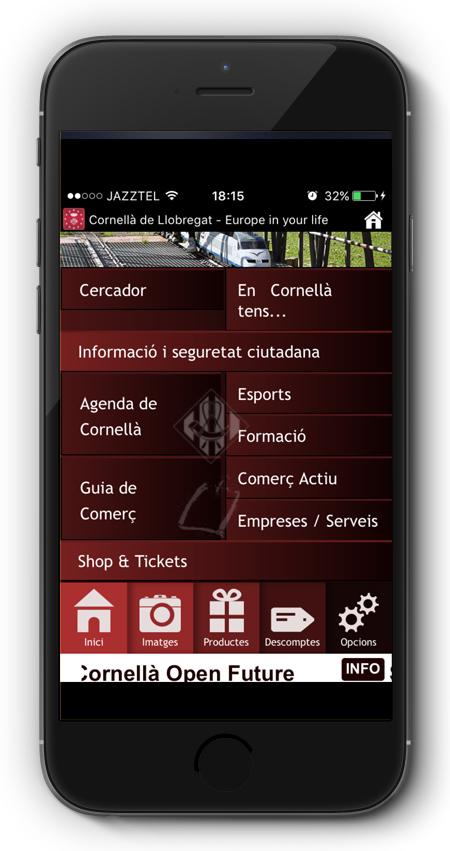 captura app Cornellà de Llobregat