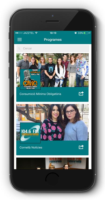 app Radio Cornella