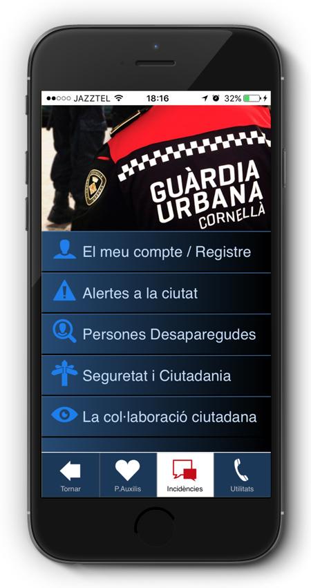 captura app Seguretat Ciutadana