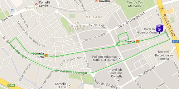 Ayuntamiento de cornell for Piscina can mercader