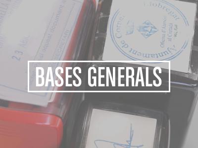 Bases Generals