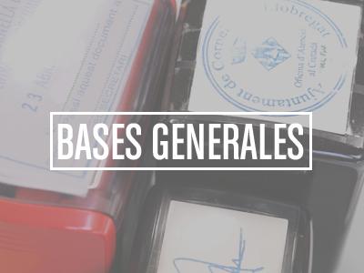 Bases Generales