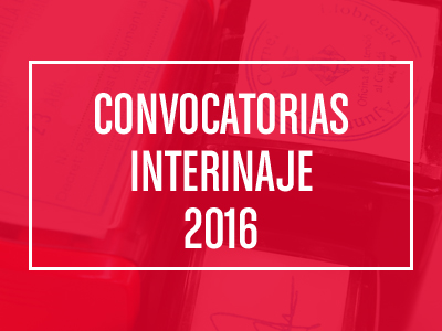 Convocatorias Interinaje 2016