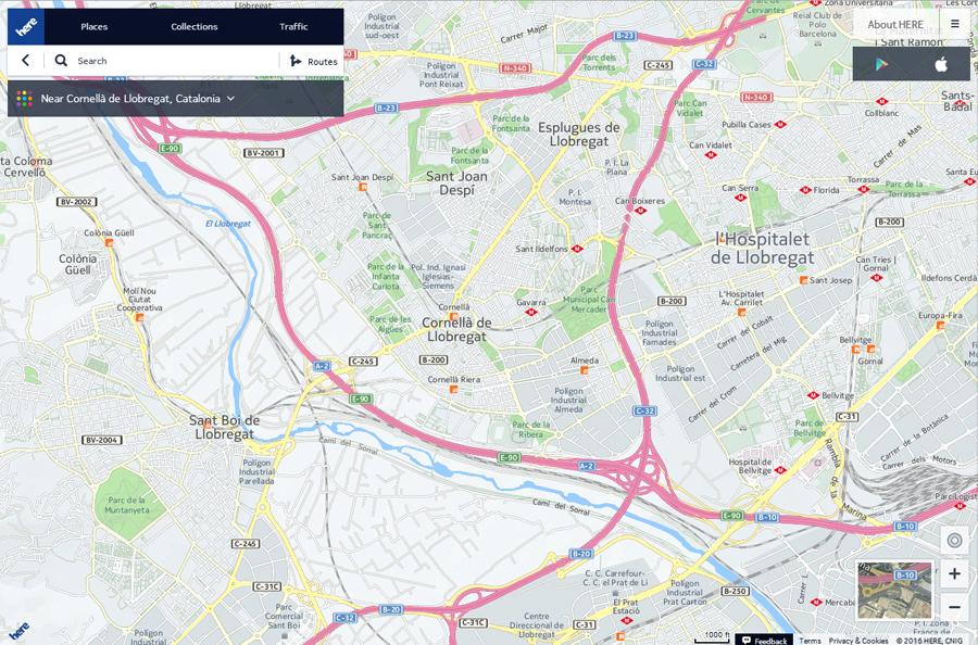 HEREmaps